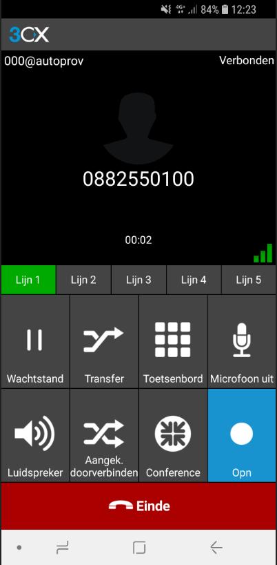 3CX - Call Recording (Alle gesprekken / per gesprek